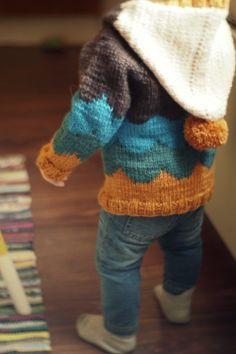 Jebb ætla að gera eina svona á hann Braga minn fyrir sumarið.möst do! Kids Knitting Patterns, Knitting For Kids, Crochet For Kids, Knitting Projects, Baby Knitting, Crochet Baby, Knit Crochet, Little Boy Fashion, Kids Fashion