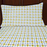 Sutton Home Fashions Piece) Emoji Bed Sheet Set Twin Size Microfiber Bedding Flat Fitted Pillowcase Queen Sheets, Queen Bedding Sets, Bed Sheets, Country Bedding Sets, Matching Bedding And Curtains, Twin Sheet Sets, Linen Bedding, Bed Linen, Comforter