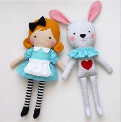 Alice in Wonderland + White Rabbit