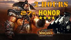 How to get full honor gear in only 2 hours on a rogue in world of warcraft