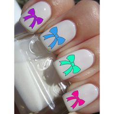 Bow Nail Decals ($4.5)
