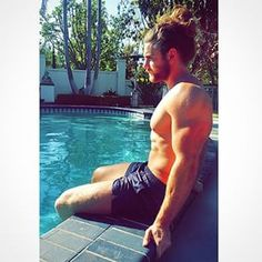 His name is Brock O'Hurn.   Community Post: The King Of Man Buns Has Been Found