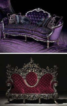 7 beautiful Gothic furniture for your living room - 7 beautiful Gothic . - 7 beautiful Gothic furniture for your living room – 7 beautiful Gothic furniture for your living - Gothic Furniture, Unique Furniture, Vintage Furniture, Furniture Decor, Colorful Furniture, Mirrored Furniture, Furniture Design, Mirrored Bedroom, Bedroom Red