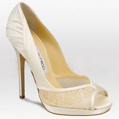 Jimmy Choo Gloss 120mm Silk Satin Shoes With Lace Detail Ivory Silver [Jimmy Choo Shoes 132] - $129.00 : High-Heeled Shoes, Lastest High-heeled Shoes Wholesale