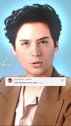Cole Sprouse Hot, Cole Sprouse Funny, Cole Sprouse Jughead, Dylan Sprouse, Riverdale Memes, Riverdale Cast, Camila Mendes Riverdale, Somebody To You, Cole Spouse