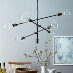 west elm mobile chandelier #modern #lighting