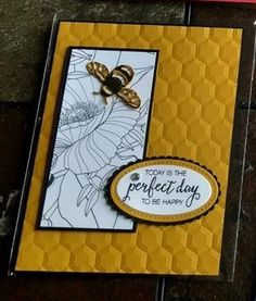 Butterfly Cards, Flower Cards, Bee Cards, Scrapbook Cards, Scrapbooking, Making Greeting Cards, Beautiful Handmade Cards, Paper Cards, Blank Cards