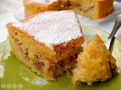 Tarta sueca de manzana Apple Recipes, Sweet Recipes, Baking Recipes, Cake Recipes, Original Cake Recipe, Breakfast Cake, Cakes And More, Yummy Cakes, Cooking Time