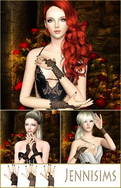 Sims 3 Finds - Accessory gloves by Jenni Sims