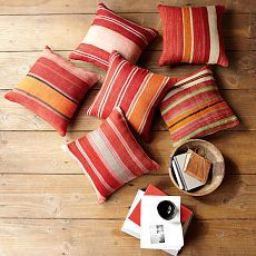 West Elm's Battani stripe pillow covers (along with all their other pillows) are 20% off! This set is $55 and screams spring is here