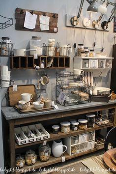 Küchenregal gestalten, neue Kollektion von Ib Laursen und Hübsch Interior Messerundgang Ambiente 2017