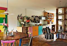 Marke Eigenbau: Die Küche in der Londoner Wohnung des Designers Martino Gamper und seiner Frau Francis Upritchard.