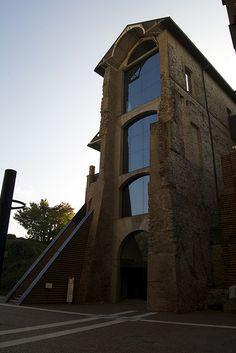 """La cosiddetta """"Manica lunga"""" del Castello di Rivoli, Torino. 45°04′12.35″N 7°30′38.51″E"""