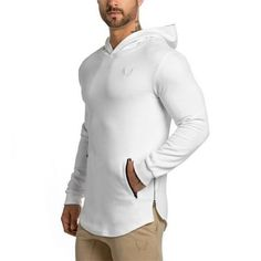 15d84f22949 2017 New Arrival ASRV Men s Long Hoodies Hooded Pullovers Casual  Sweatershirt Fitness Clothing Men Sweatshirt Hooded Muscle Coat