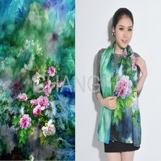 28 Awesome digital printing on silk scarves images