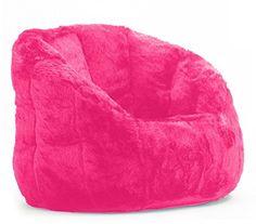 4FT BEAN BAG SOFA DA VINCI CORD Giant Beanbag Childrens Cream