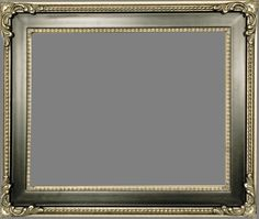 "Beautiful Picture Frame! Perfect For Artwork, Photographs, Canvas Paintings, Oil Paintings, Watercolor Paintings, Acrylic Paintings, Portraits, Wedding Pictures, Diplomas, Family Photographs & More. Ornate Black & Silver 3"" Wide Picture Frame."