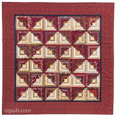 Project from Necktie Quilts Reinvented: 16 Beautifully Traditional Projects • Rotary Cutting Techniques by Christine Copenhaver