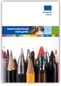 Interinstitutional style guide 2011