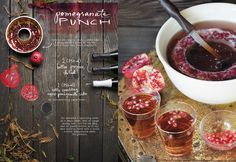 Pomegranate Punch :: The Forest Feast Gatherings