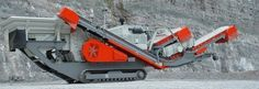 Track mounted Mobile Impactor