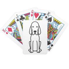 Boykin Spaniel Dog Cartoon Deck Of Cards Redbone Coonhound, Treeing Walker Coonhound, English Coonhound, Bicycle Cards, Bicycle Playing Cards, Toy Fox Terriers, Bull Terrier Dog, American Bobtail Cat, American Foxhound