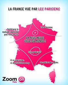 How Parisians see France  :-)