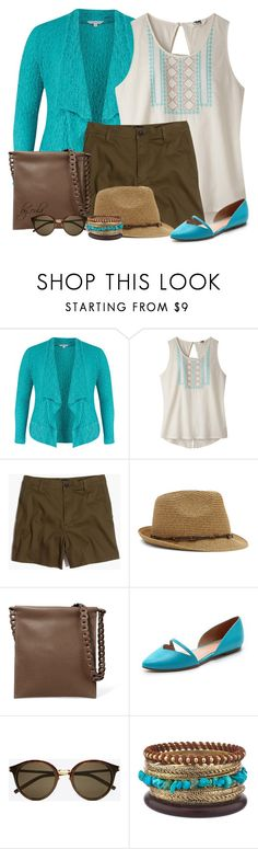 """""""Mountain Khakis Tanks (Outfit Only)"""" by eula-eldridge-tolliver ❤ liked on Polyvore featuring Chesca, Mountain Khakis, Madewell, Nine West, The Row, Sigerson Morrison and Yves Saint Laurent"""