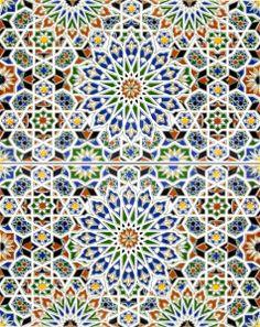 Marokańskie płytki ceramiczne - Nazir / kolorymaroka.pl