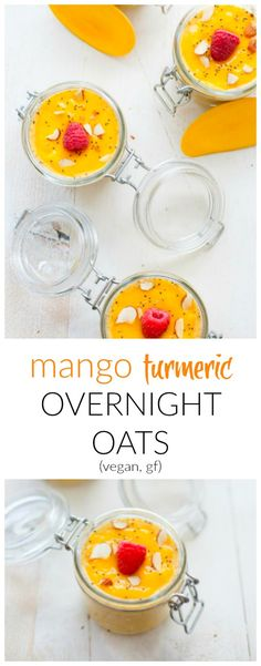 A tropical spiced breakfast that's sure to shake up your morning routine. These mango turmeric overnight oats are packed with over 20 different vitamins, minerals and antioxidants.