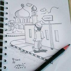 18 Gambar Sketsa Pensil Pencil Sketch Terbaik Drawing Art
