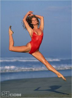 Rachel Hunter - Sports Illustrated Swimsuit 2007 When They Were Rookies