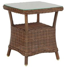 Capella Island Textured Walnut Brown Accent Table | Pier 1 Imports
