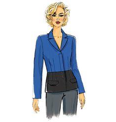 V8931 | Misses' Jacket | New Sewing Patterns | Vogue Patterns