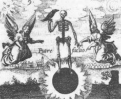 "four stages of Alchemy: #01 ""Nigredo"" (darkening)"