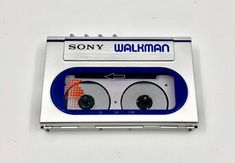 Player 1, Sony, Tape, Technology, Retro, Tech, Tecnologia, Retro Illustration, Band