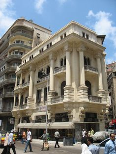 This building belonged to the family Aghion and family Takla.    This building now houses the office of Al-Ahram in Alexandria
