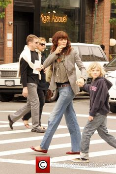 Picture - Helena Christensen, son Mingus Lucien out and about in the West Village New York City, USA, Saturday 10th May 2008 | Photo 665203 | Contactmusic.com