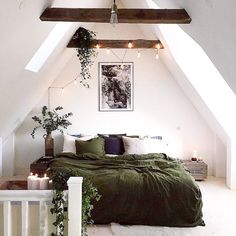 Attic bedrooms are the best bedrooms!