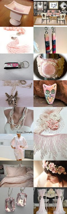 Palest Pink~TeamUNITY~Group 9 by Kathy Carroll on Etsy--Pinned with TreasuryPin.com  #TeamUNITY
