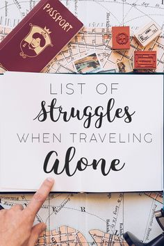 Traveling alone is fun and challenging in itself but let's face it, the STRUGGLE is REAL! Here's a list of struggles when traveling alone abroad. Struggle Is Real, Travel Alone, Blogging, Traveling, Face, Solo Travel, Viajes, The Face, Trips