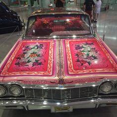 Imagem de car, pink, and vintage Pretty Cars, Cute Cars, Estilo Chola, Honda Element, Street Racing, Retro Aesthetic, Future Car, My Ride, Looks Cool