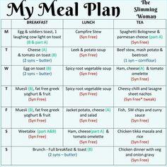 Aldi Slimming World Syns, Slimming World Diet Plan, Easy Slimming World Recipes, Slimming World Free, Slimming Word, Slimming World Meal Planner, Melt Belly Fat, Reduce Belly Fat, Lose Belly Fat