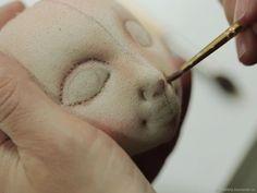 Видео МК по созданию кукольного личика из текстиля – купить в интернет-магазине на Ярмарке Мастеров с доставкой - F1IQVRU