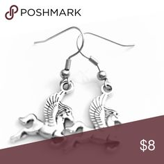 Fairytale Earrings! These unique earrings are handmade and include sterling silver hooks. Nickel and lead free. Includes a gift box. Buy 2 pairs of earrings, get the 3rd free! Jewelry Earrings