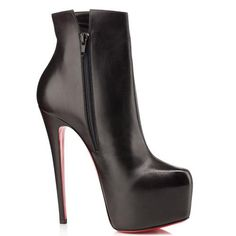 Perfect Christian Louboutin Daf Booty 160mm Ankle Boots Black, Perfect You