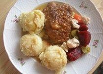 Napité řízečky Thing 1, Potato Salad, Cauliflower, Dairy, Potatoes, Cheese, Vegetables, Ethnic Recipes, Foodies