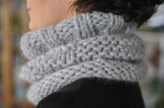 col doudou : le Rime Frost Cowl de Ida Thue Nielsen (patron : http://www.ravelry.com/patterns/library/the-rime-frost-cowl)