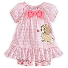 Disney Lady Knit Dress for Baby Disney Baby Clothes, Baby Kids Clothes, Baby Disney, Baby & Toddler Clothing, Outfits Niños, Kids Outfits, My Baby Girl, Baby Love, Baby Girl Fashion