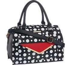 Damen Handtasche von Catwalk in schwarz-weiß - deichmann.com